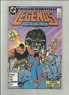 Legends #1 3 4 6 6-Issue Lot 6.0-8.0 Free Comb Shipping