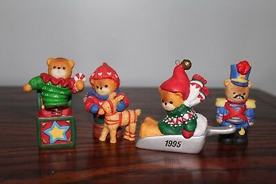 Lucy and Me bears, Christmas, Winter, 4, nutcracker, jack in the box, reindeer