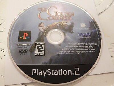 Golden Compass (Sony PlayStation 2, 2007)Disc Only Free Shipping 26-141