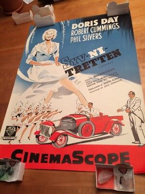 Lucky Me Doris Day German Movie Poster FREE SHIPPING