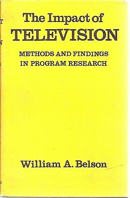 Television Marketing Advertising Programming Market Research 1967