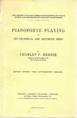 Piano Music Pianoforte Playing Technical Aesthetic Side Book