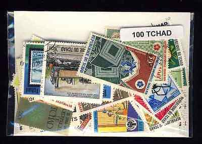 Tchad - Chad 100 timbres différents