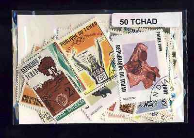 Tchad - Chad 50 timbres différents