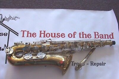 SELMER BUNDY ll TENOR SAXOPHONE IN EXCELLENT PLAY CONDITION