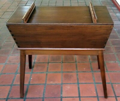 dough box, antique, solid wood, dove tail assembly,