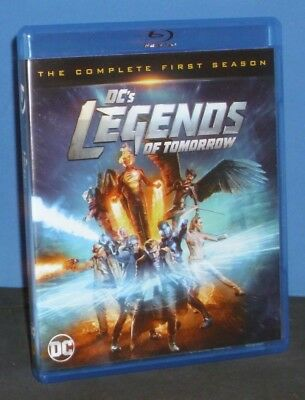 DCs Legends of Tomorrow: The Complete 1st Season (Blu-ray, 2016, 2-Disc Set)