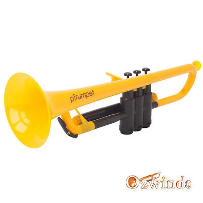 pTrumpet - The Plastic Trumpet (Yellow and Black)