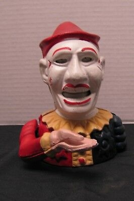 Clown Head Mechanical Bank