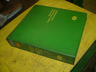1966/67 JOHN DEERE POWER UNIT/TRACTOR service bulletins in nice 3 ring binder