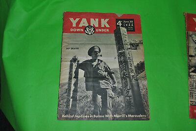 12 issues of Yank Magazine from WW2 Lot 10-114