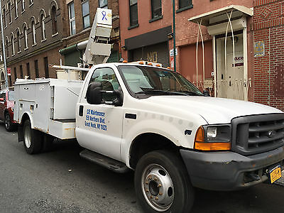 1999 Ford F450 Bucket Truck - 181K - excellent working condition - ready to go