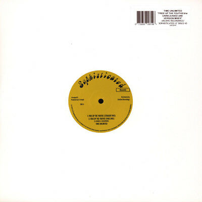 """Time Unlimited - Free Up The Youths (Vinyl 12"""" - 2017 - UK - Original)"""