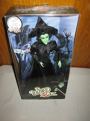 NRFB Mattel Barbie Doll Wizard Of Oz 75th Pink Label Wicked Witch Of The West!