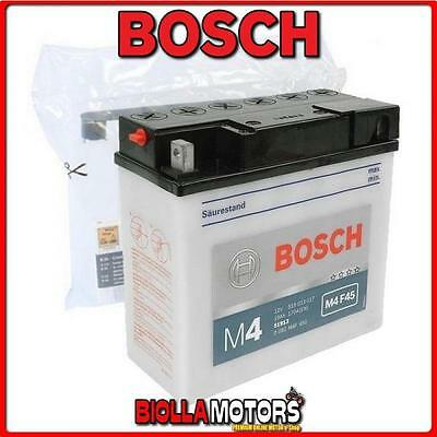 0092M4F450 Batteria Bosch 12V 19Ah 51913 Con Acido 51913 Moto Scooter Quad Cross