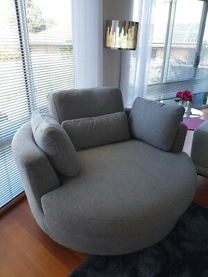 Snuggle Chair - Occasional Swivel Chair