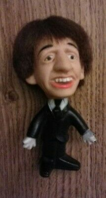 The Beatles 1964 Ringo Starr hard body Remo doll in vg+ cond SELTAEB NEMS ENT.