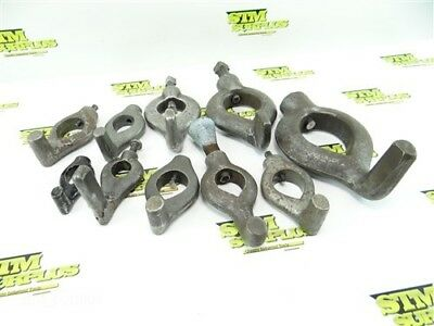 """10Pc Lot Of Heavy Duty Lathe Dogs Armstong 3/4"""" To 2-1/2"""""""
