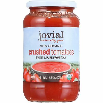100% Organic Tomatoes; Crushed
