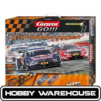 Carrera GO!!! DTM Touring Contest Slot Racing Set