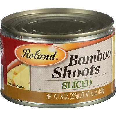 Bamboo Shoots; Sliced