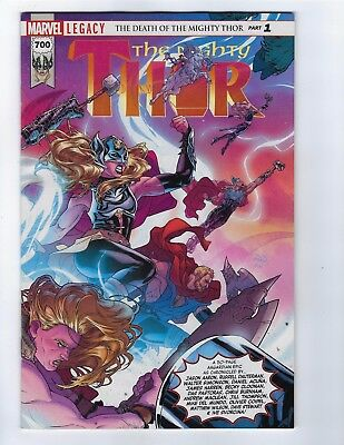 Mighty Thor # 700 Regular Cover Marvel NM