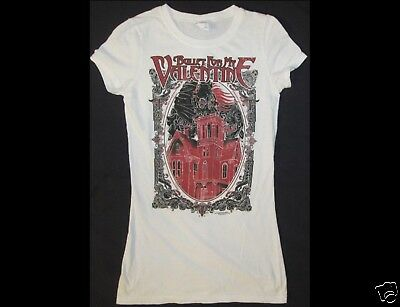 BULLET FOR MY VALENTINE Junior Size XS White T-Shirt
