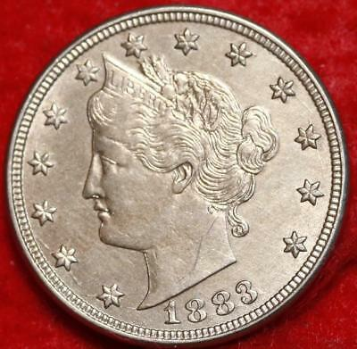 Uncirculated 1883 No Cents Philadelphia Mint Liberty Nickel Free Shipping
