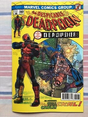 The Despicable Deadpool #287 Lenticular Homage Variant » NM » 1st Print » Marvel