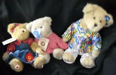 Lot of 3 Boyds Bears
