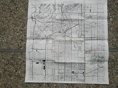 Antique maps of Southern California 1948 Inglewood and Los Angeles