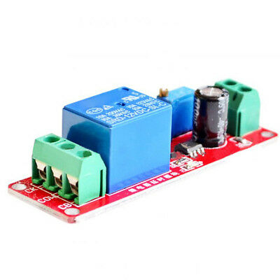 12V Delay Adjustable Timer shield Relay Switch Module 0 to 10 Second with NE555