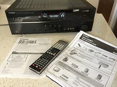 Yamaha RX V567 7.1 Channel 150 Watt Receiver