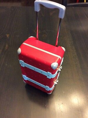 American Girl Doll Grace Thomas Travel Suitcase With Accessories