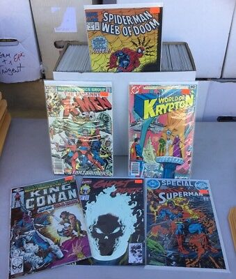 Huge lot of 150  marvel and D.C. Comics nice collection