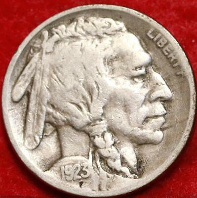1923-S San Francisco Mint Buffalo Nickel Free Shipping