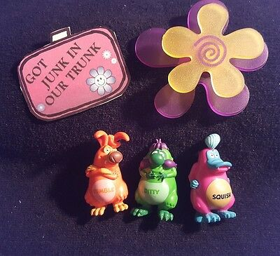 US Chocolate Yowie Squish Ditty Figures Set of Three