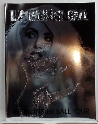 LADY GAGA THE MONSTER BALL Tour BOOK Concert PROGRAM pics