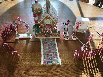 """Dept 56 North Pole """"ginny's Cookie Treat Set"""" - 3Pc - #56732 - With Extra Pieces"""