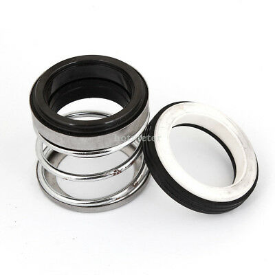 1x BIA-30 30mm Inner Diameter Water Pump Mechanical Seal Parts Black Silver Tone