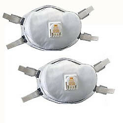 3M 54143 Particulate Respirator 8233 N100 2 pack