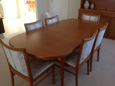 CHISWELL TEAK Dinning Setting