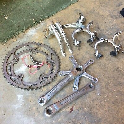 Shimano 600 Arabesque Groupset Vintage
