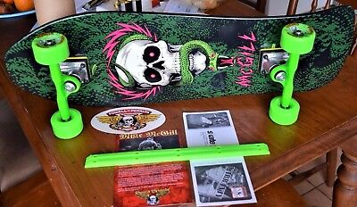 POWELL PERALTA SKATEBOARD COMPLETE* Mike McGill gullwings and g-bones+ rails ect