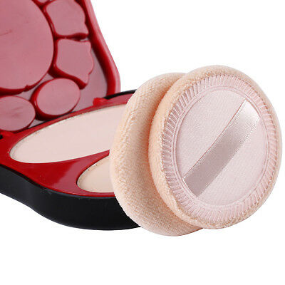 2 X New Powder Puff Cosmetic Makeup Face Sponges Beauty Foundation
