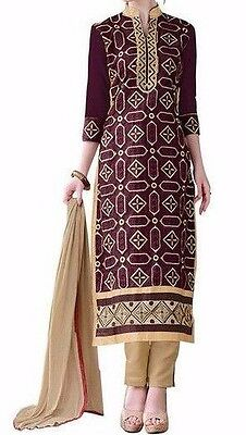 Stitching Service Indian Designer Salwar Kameez Churidar  Without Lining-Riaa