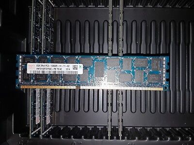 Hynix 32GB (4×8GB) - 2Rx4 PC3 - 12800r - 11 -11 - E2 1600 MHZ ECC Server Memory