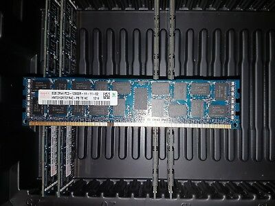 Hynix 16GB (2×8GB) - 2Rx4 PC3 - 12800r - 11 -11 - E2 1600 MHZ ECC Server Memory