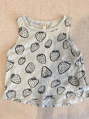 Rylee and cru Baby Girl Top Size 1 12-18 Months