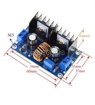 PWM 4-38V To 1.25-36V Adjustable Step-Down Board Module DC-DC Converter XL4016 D
